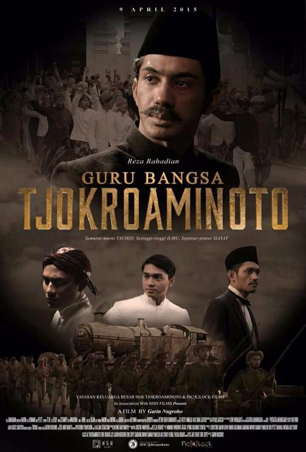 Poster Film Tjokroaminoto